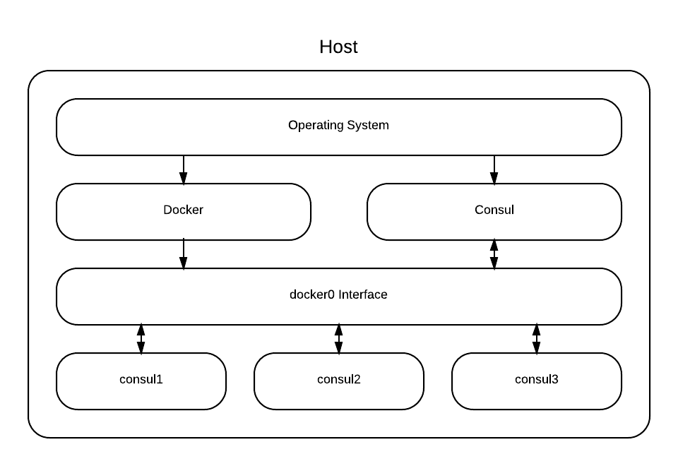 Consul Demo Architecture